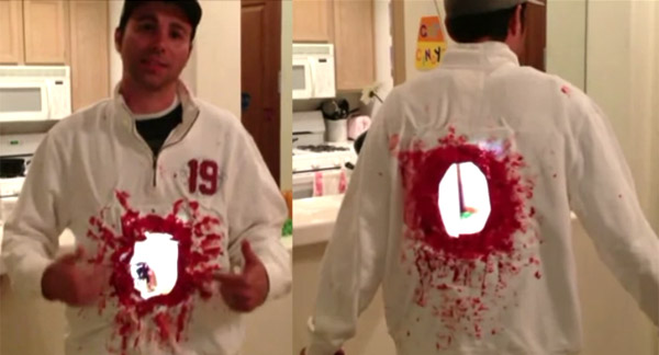 Mark Rober iPad costume  sc 1 st  Boombotix & Quick and easy Halloween costume | Boombotix SkullyBlog