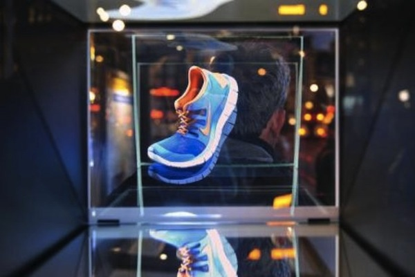 Nike Launches A Holographic 3d Advertising Campaign