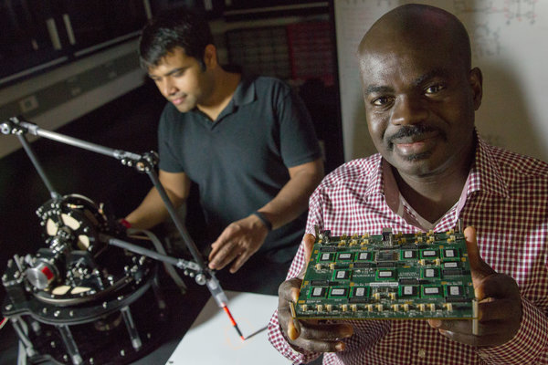 Researcher holds biologically-inspired processor