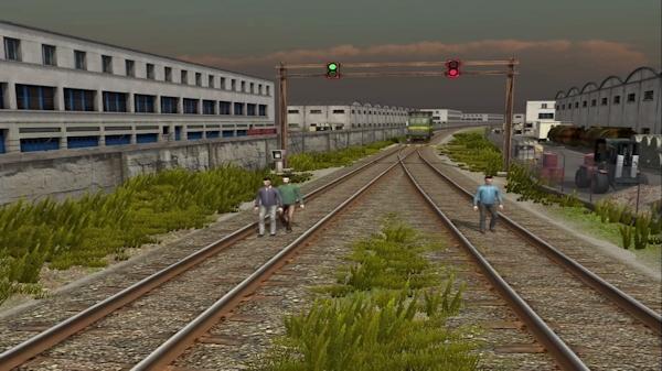 Train moral dilemma screenshot