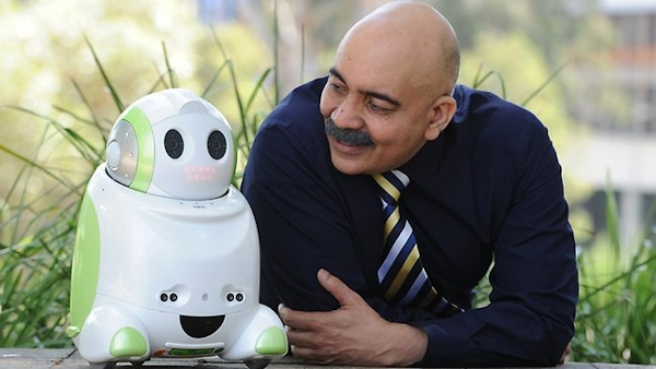 Rajiv Khosla and Charlie