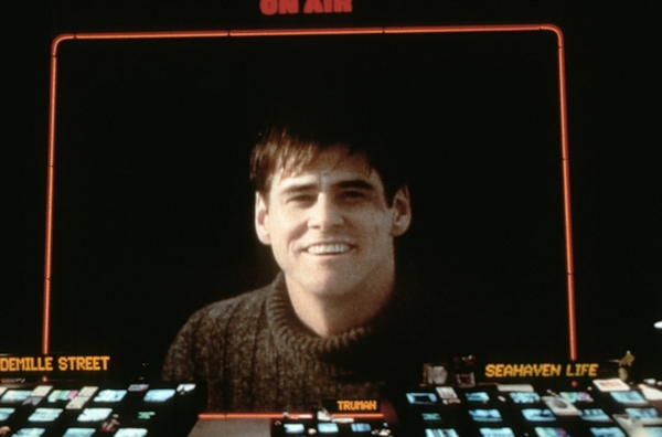 Jim Carrey in The Truman Show