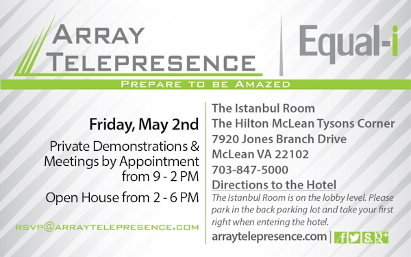 Array Telepresence Open House