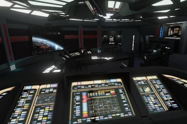 Voyager bridge in Oculus Rift