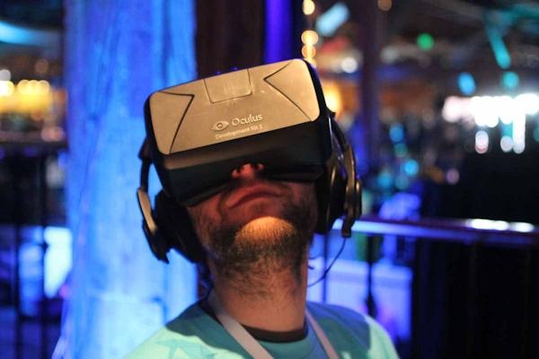 Oculus Rift at Facebook F8 conference