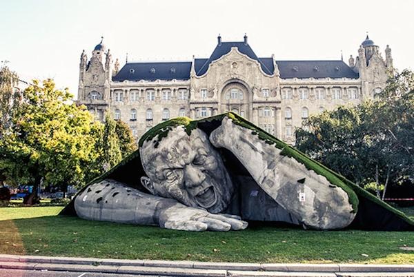 Budapest outdoor sculpture