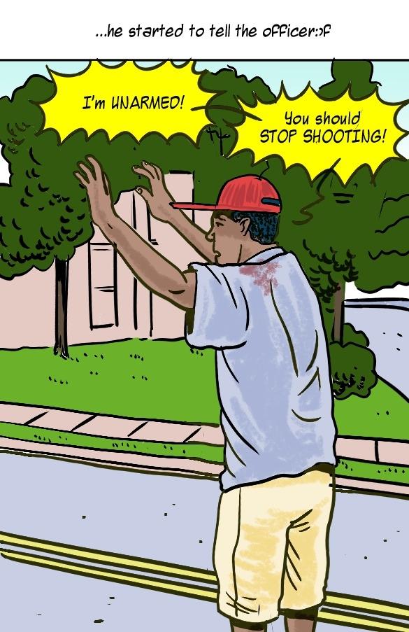 Michael Brown shooting in VR