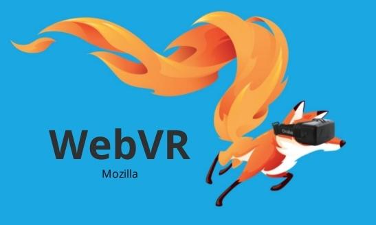 Web VR Mozilla graphic