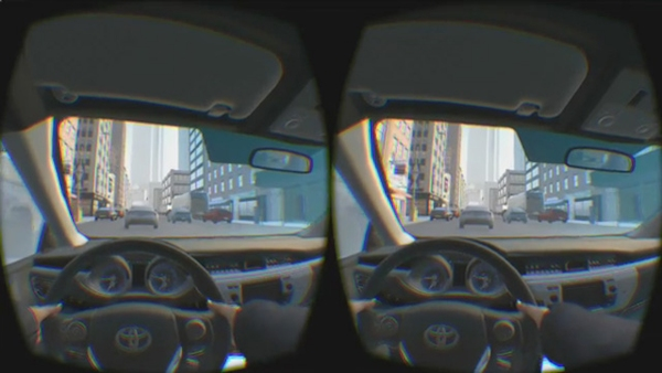 Toyota TeenDrive365 with Oculus Rift