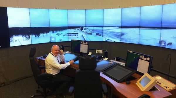 Remote air traffice control center in Sweden