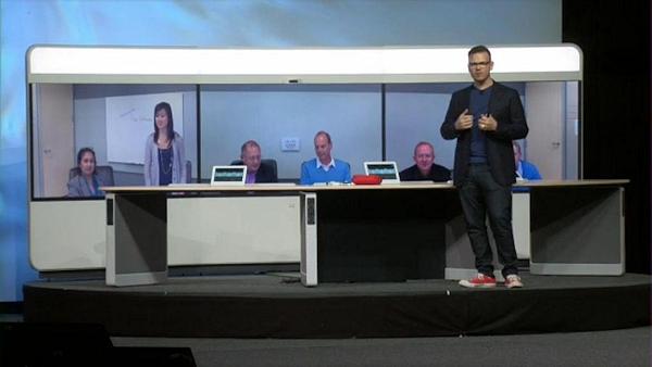 Cisco IX 5000 at Cisco Collaboration Summit 2014