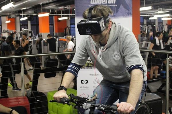 Widerun with Oculus Rift