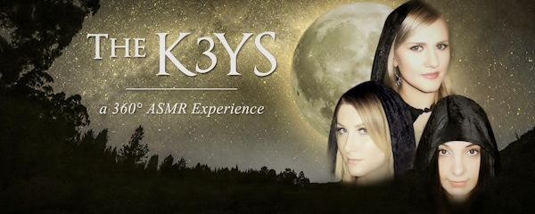 The K3YS 360 ASMR Experience graphic