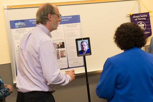 Nursing training at Indiana State via telepresence robot