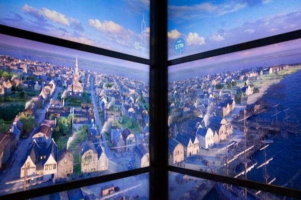 One World Trade Center virtual NYC: 1779