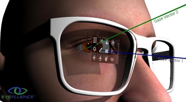 Eyefluence eye-tracking