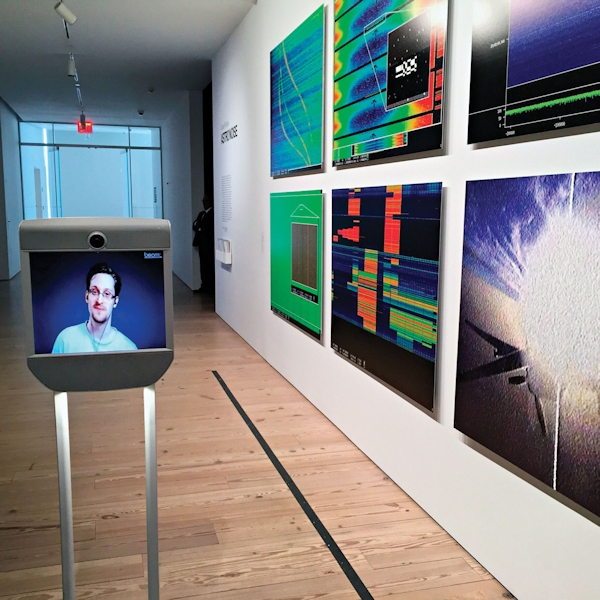 Snowden at the Whitney