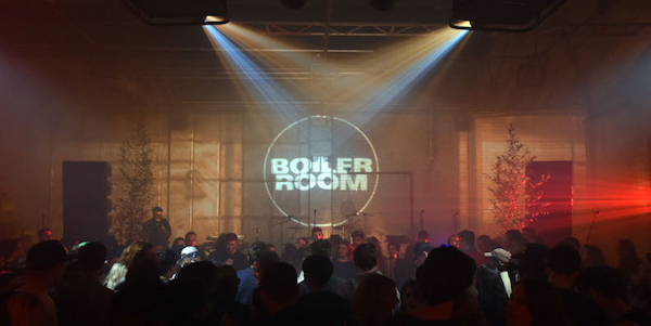 Boiler Room music venue in London