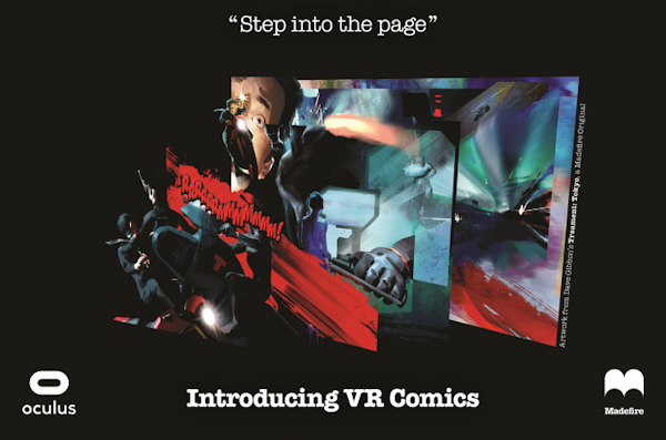 Madefire VR comics graphic
