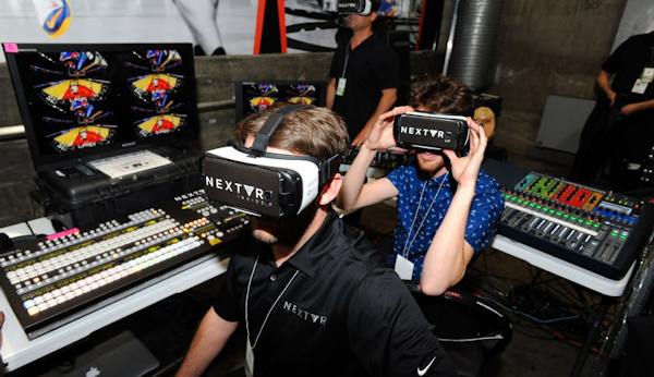 NBA-NextVR broadcasting